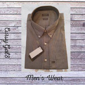 *5/$20* Arrow Striped Shirt Classic Fit  XXL